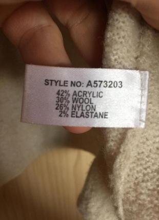 Новый шерстяной свитерок с вышивкой linea 14-16pp2