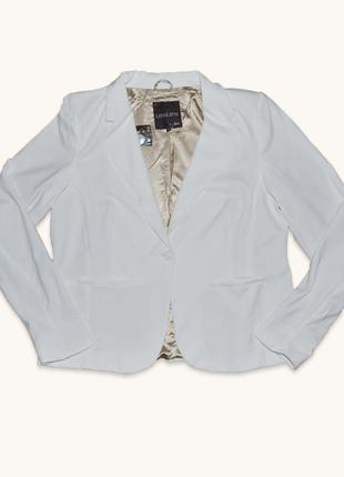 Белый коттоновый пиджак от lеnalеna by jbc