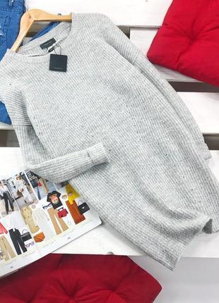Оверсайз свитер-платье primark atmosphere