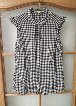 Красивая блуза топ без рукавов от esprit, p. m