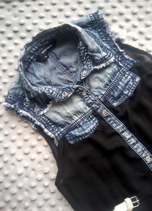 Блуза c воротником от tally weijl