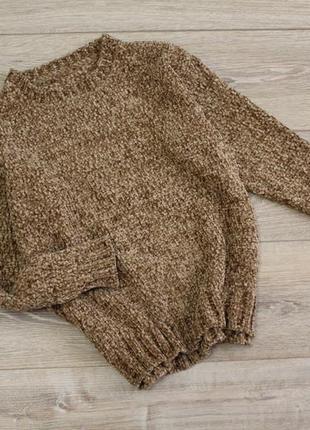 Плюшевый свитер, велюровый свитер