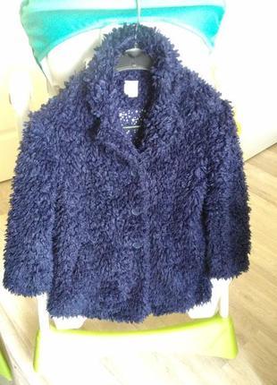 Демі шубка пальто mantaray на 7-8 років /деми шуба пальто