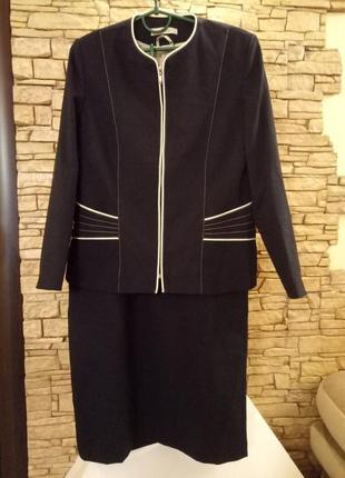 Sale!   элегантная классика,костюм 46-48р