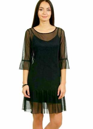 Платье фатин сетка