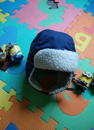 50р теплющая зимняя термо шапка шлем