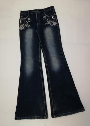 Тёплые джинсы yuke jeans, размер 26.