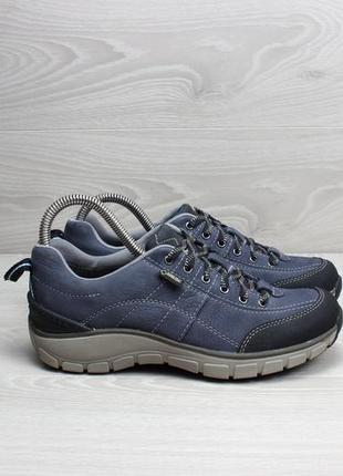 Легкие кожаные кроссовки clarks оригинал, размер 37 (gore-tex)