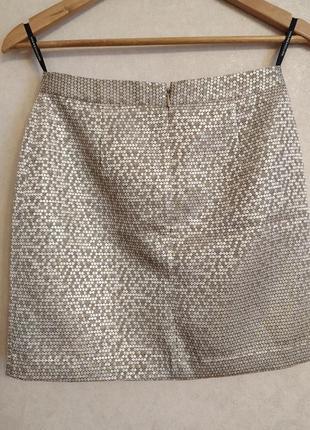 Золотистая юбка / юбка на праздник warehouse2 фото