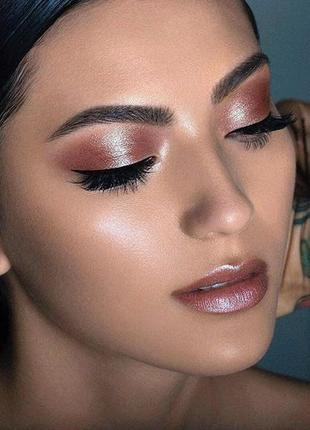 Помада-тени-румяна bite beauty, бежево-коричневый с золотисто-розовым шиммером2 фото