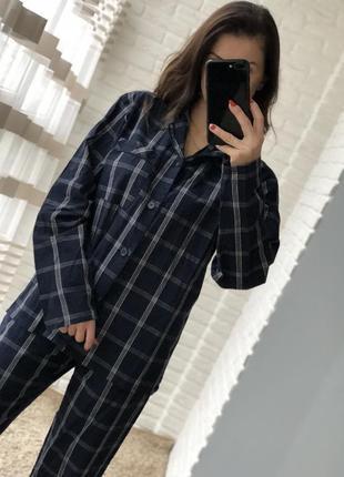 Красивая коттоновая пижама размер s