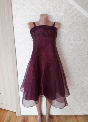 Шикарное вечернее платье....