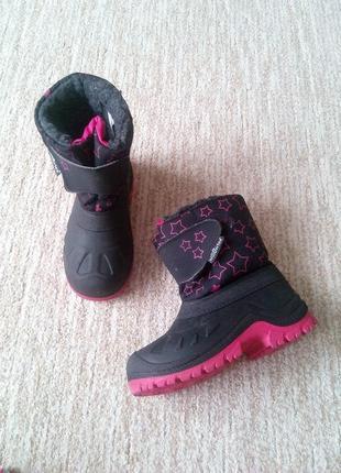 Зимние термо ботинки willowtex technical shoes italy 39-30 р.