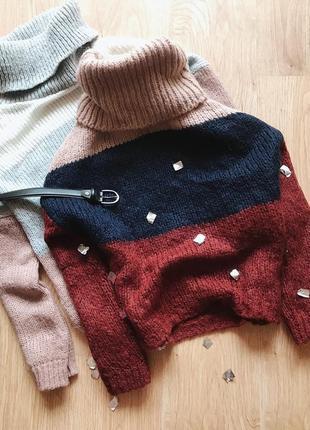 Стмльний шерстяний светер