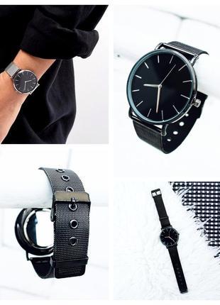 Новые стильные часы унисекс, металл, фото вживую распродажа