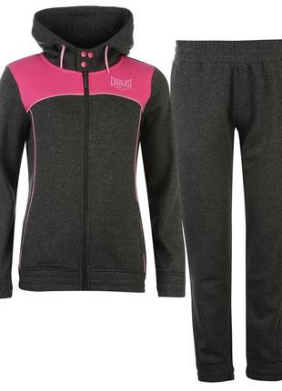 Everlast теплый спортивный костюм женский серый