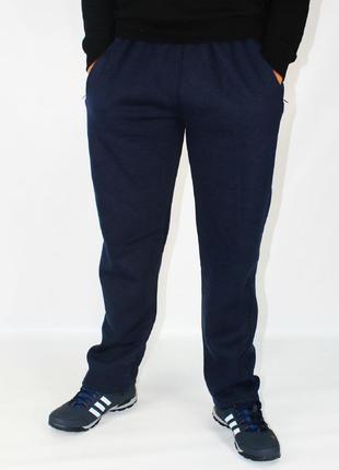 Спорт штаны мужские на флисе