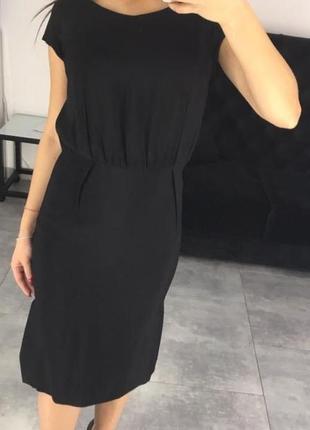 Платье черное valentino