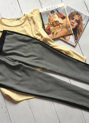 Актуальные штаны, брюки с лампасами атм