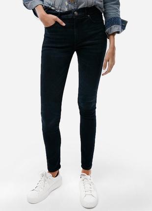 American apparel джинсы-леггинсы с молниями р 44 высокая посадка