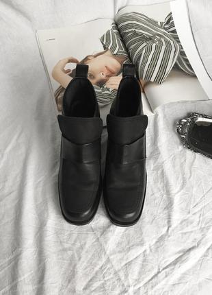 Демисезонные ботиночки в винтажном стиле