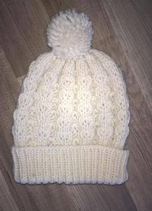Вязаная шапка new look