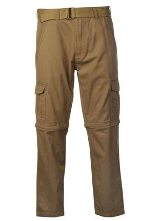Pierre cardin на молнии с карманами штаны мужские светло-бежевые