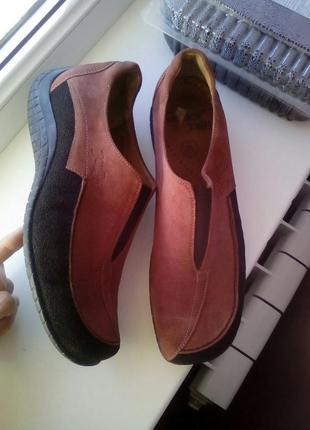 Закрытые туфли/мокасины gabor jollys.кожа.замша
