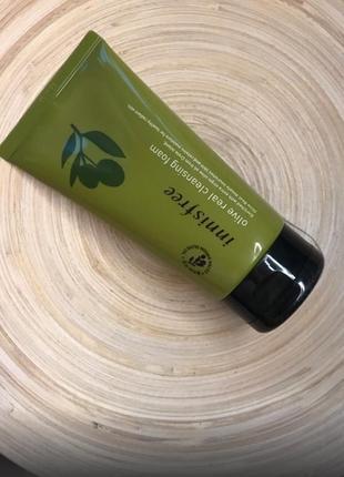 Пінка для вмивання  innisfree olive real cleansing foam