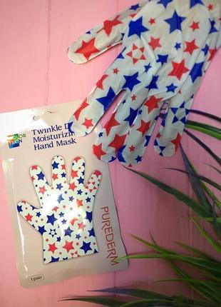 Маска-перчатки purederm daily moisturizing hand mask