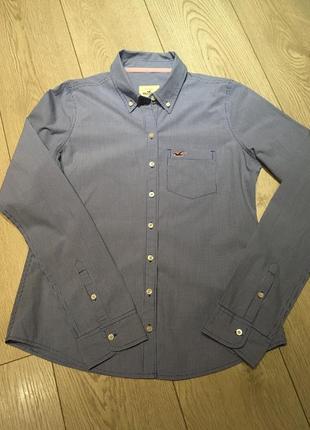 Рубашка в клеточку hollister размер м