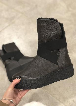 Женские сапоги и ботинки на низком каблуке (ходу), на плоской ... 20b4a6fd754