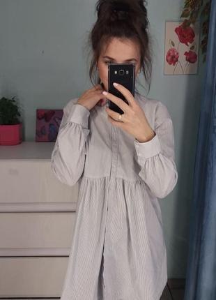 Рубашка удлиненная zara