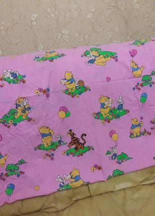 Пододеяльник детский винни пух  на одеяло 120×90 см в хорошем состоянии