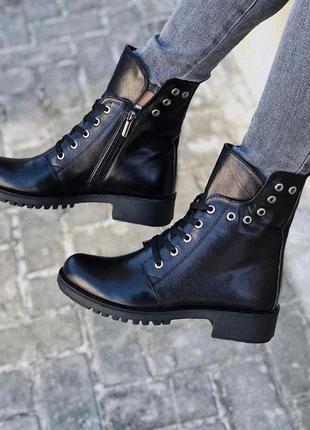 Зима  - весна 2020, мега удобные, натуральные ботинки , с 36-42р5 фото
