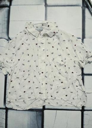 Укороченная рубашка