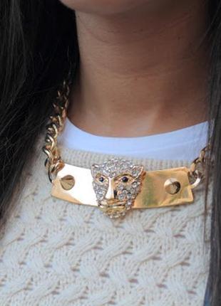 Колье, ожерелье, цепь zara
