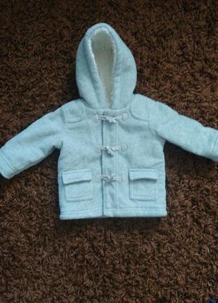 Деми куртка george, для мальчика 3-6 месяцев. будет дольше. холодная осень, теплая зима.