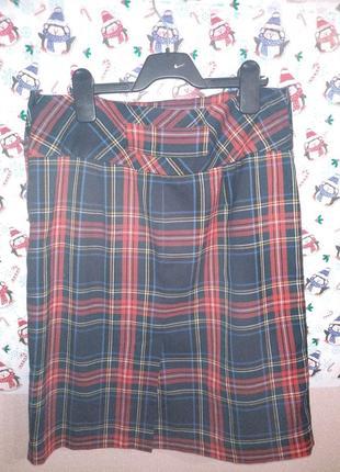Продам трендовую юбку в крупную клетку от h&m