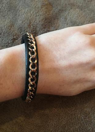 Новый женский кожаный браслет h&м (обмен )
