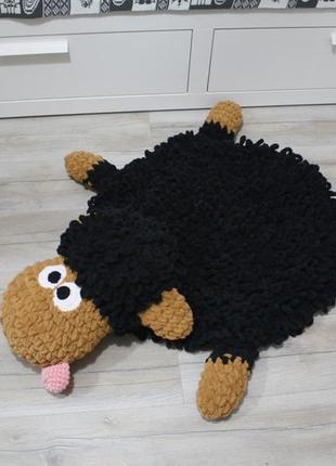 Плюшевый коврик для детей барашек