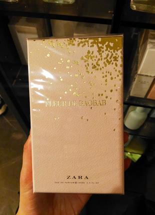 Tualetnaya Voda Zara Fleur De Baobab 100 Ml Zara Cena 899 Grn