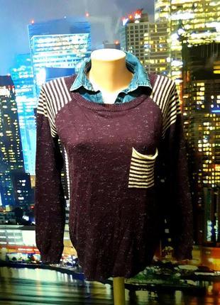 Супер стильный и модный джемперок, свитер