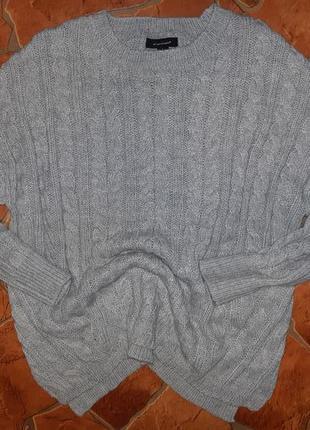 "Объемный свитер ""косы"" от atmosphere"