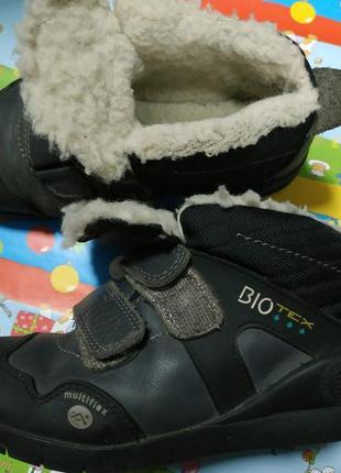 Зимние ботинки для мальчика р.30 biomecanics