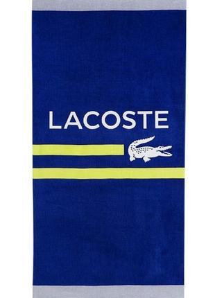 Полотенце lacoste