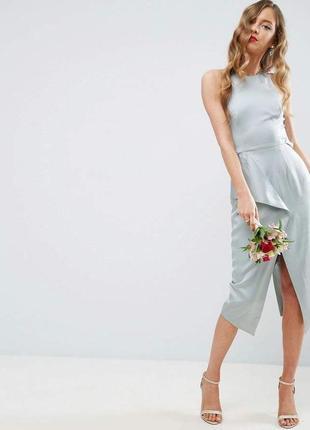 Изысканное платье со свадебной коллекции asos premium