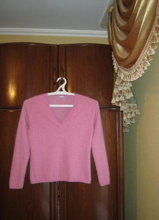 Пуловер crew, 100% натуральный кашемир, размер м