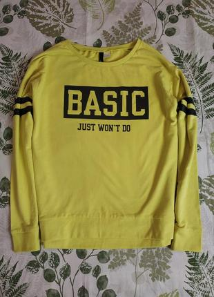 Фирменный свитшот свитер h&m