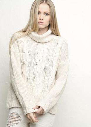 S/m – люксовый вязаный шерстяной свитер - brandy ♥ melville